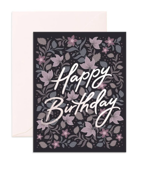 Birthday Bohemia Greeting Card