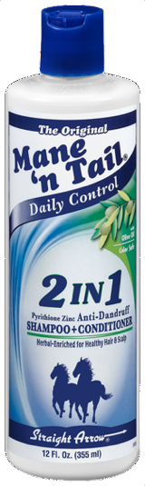 2-in-1 Anti-Dandruff Shampoo & Conditioner