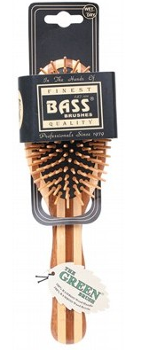 BASS Large Oval Bamboo Brush