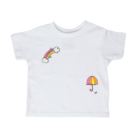 Pink Rainbow Toddler Tee