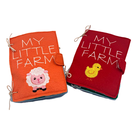 My Little Farm Quiet Book