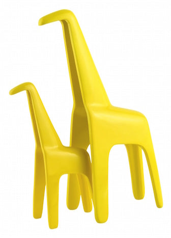 Giraffe Set Yellow