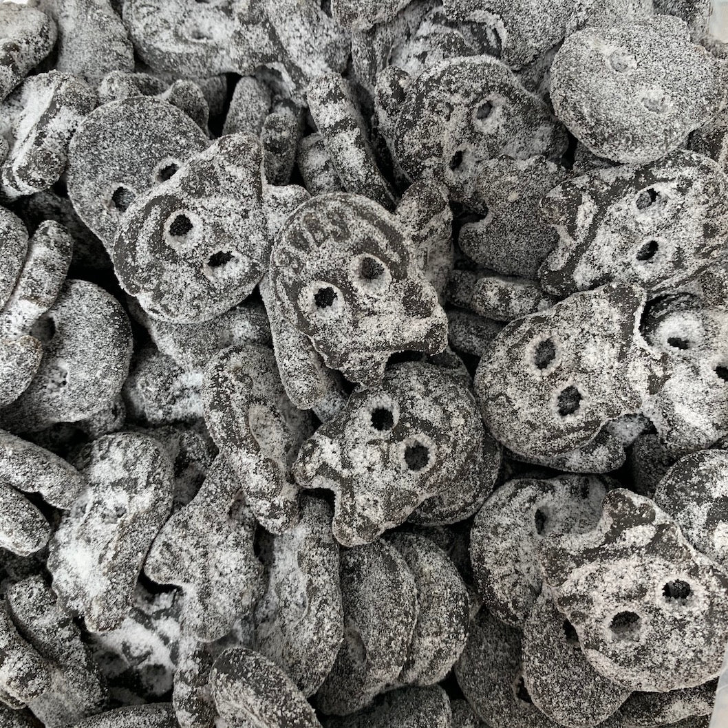 Super salty mini skulls