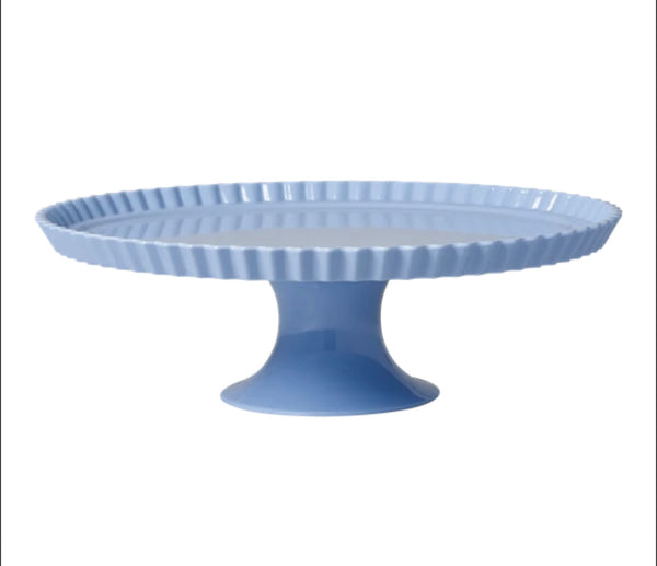 Large cake stand lavender