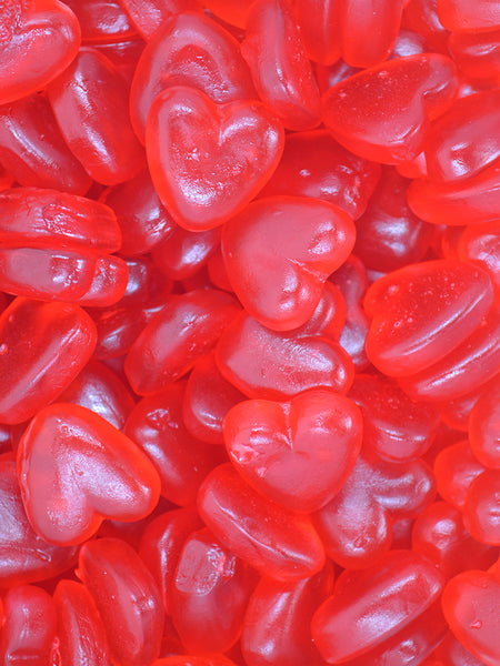 Jelly hearts
