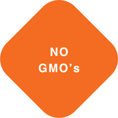 Diamond image that reads no gmo's