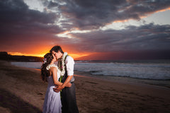 Amanda & Kurt Say 'I Do' At Maui's Picturesque Ironwoods Beach