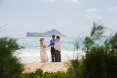 Connie & John Elope on Oahu's Windward Coast!