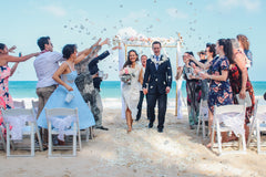 A Perfect Arch & Chairs Wedding in Oahu, Hawaii