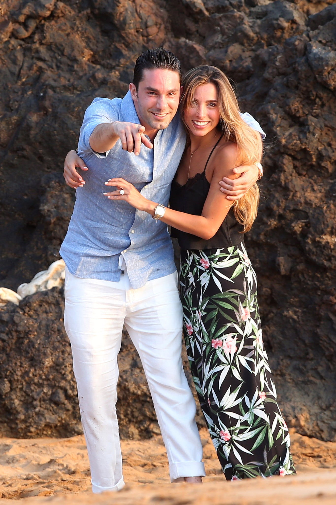 Lawyer Bobby Saadian proposes to Girlfriend Renee