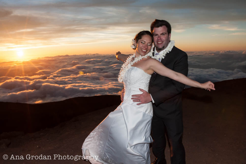 A Mt. Haleakala Wedding