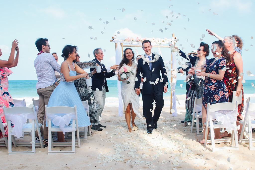 It Was A Beautiful Day For Midday Wedding At The Sherwood Beach Waimanalo Bay Due To Direction Of Sun We Always Advise An Earlier Start Time