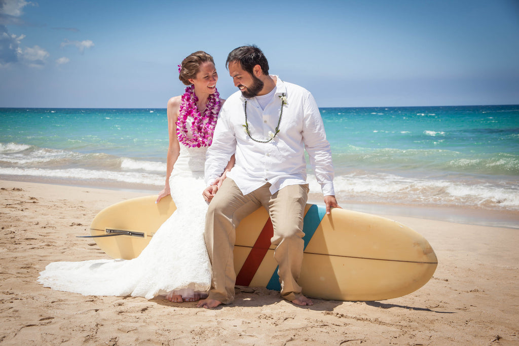 Christen & Gilbert, Hapuna Beach, Big Island