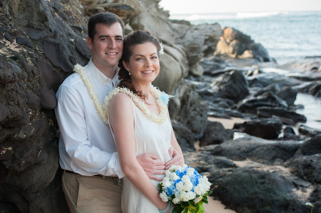 Jesus & Soledad Marry at Kapalua Bay Beach in Maui, Hawaii