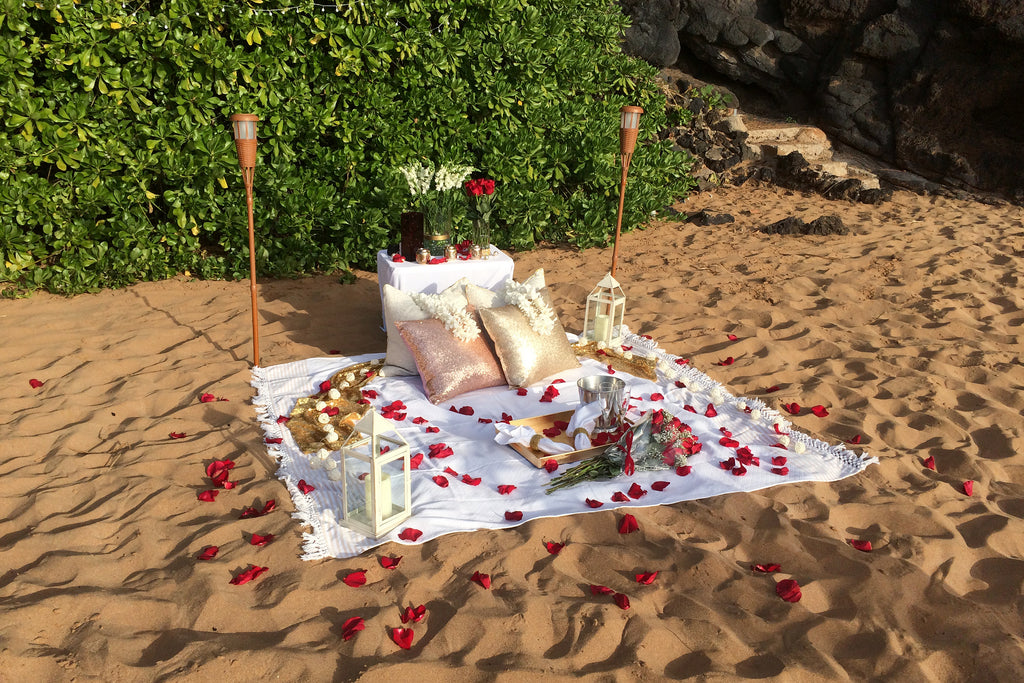 Paparazzi Proposal Setup, Maui, Hawaii