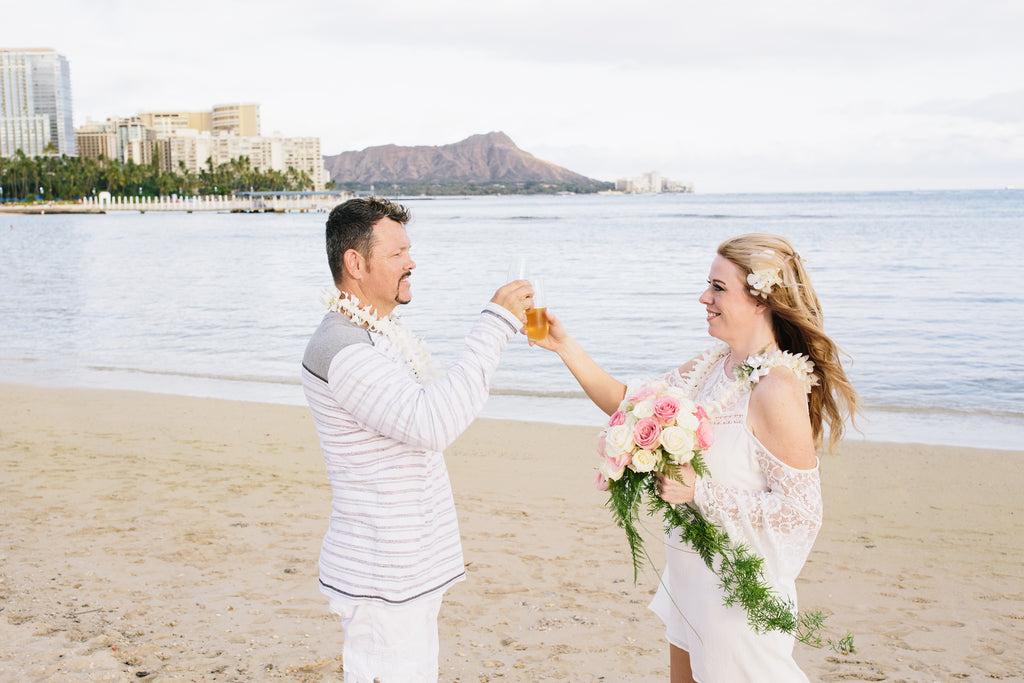 Cider Toast to Love, Laughter and Happily Ever After!