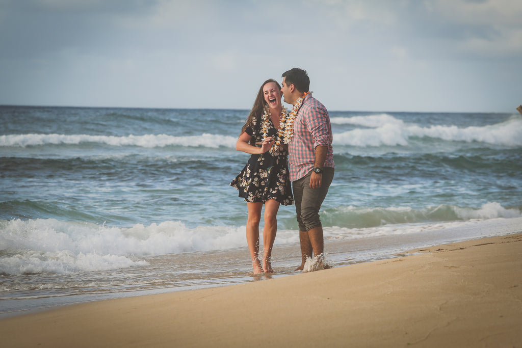 Papa'iloa Beach aka Police Beach Paparazzi Proposal, Oahu, Hawaii