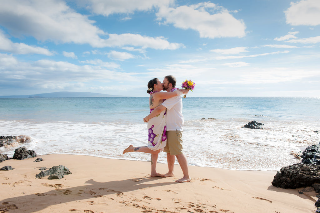 Keawakapu Beach Wedding in Maui