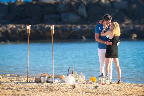 """The Picnic Proposal"" Engagement Package , Event Packages - Hawaii Weddings, Married with Aloha, Hawaii - 7"