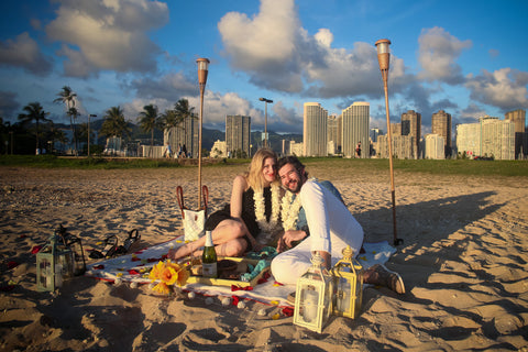 """The Picnic Proposal"" Engagement Package , Event Packages - Hawaii Weddings, Married with Aloha, Hawaii - 9"