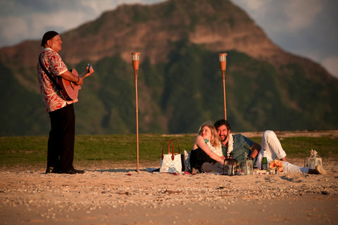 """The Picnic Proposal"" Engagement Package , Event Packages - Hawaii Weddings, Married with Aloha, Hawaii - 10"