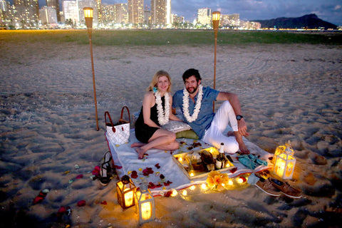 """The Picnic Proposal"" Engagement Package , Event Packages - Hawaii Weddings, Married with Aloha, Hawaii - 8"