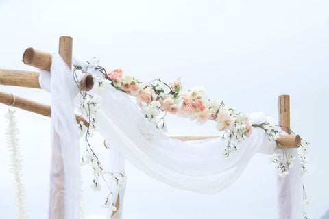 """Arch and Chairs"" Wedding Package (Oahu Only) , Event Packages - Married with Aloha, Hawaii, Married with Aloha, Hawaii - 3"