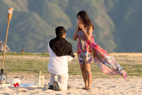 """The Picnic Proposal"" Engagement Package , Event Packages - Hawaii Weddings, Married with Aloha, Hawaii - 5"