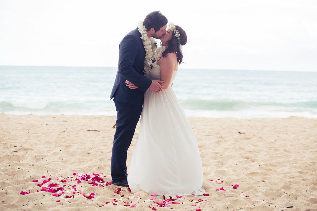 Happily ever after elopement package hi beach weddings married happily ever after elopement wedding package event packages married with aloha junglespirit Choice Image