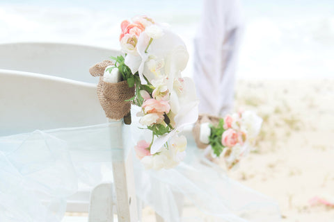 """Arch and Chairs"" Wedding Package (Oahu Only) , Event Packages - Married with Aloha, Hawaii, Married with Aloha, Hawaii - 2"