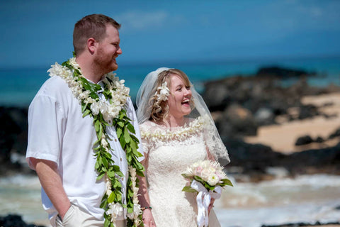 🌺 Makena Cove | South Maui | Hawaii Beach Weddings & Elopements | Married with Aloha, LLC