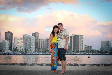 Magic Island Lagoon | Oahu | Hawaii Beach Weddings & Elopements | Married with Aloha, LLC