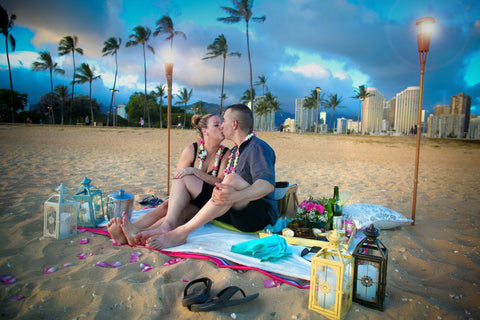 """The Paradise Proposal"" Engagement Package , Event Packages - Hawaii Weddings, Married with Aloha, Hawaii - 16"