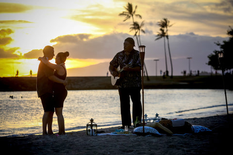 """The Picnic Proposal"" Engagement Package , Event Packages - Hawaii Weddings, Married with Aloha, Hawaii - 13"