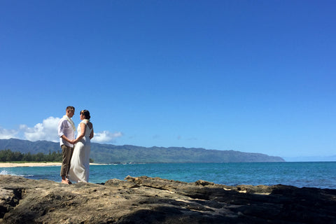 Papa'iloa Beach | Oahu | Hawaii Beach Weddings & Elopements | Married with Aloha, LLC