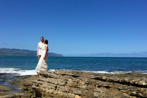 Papa'iloa Beach, Oahu , Locations - Hawaii Weddings, Married with Aloha, Hawaii - 6