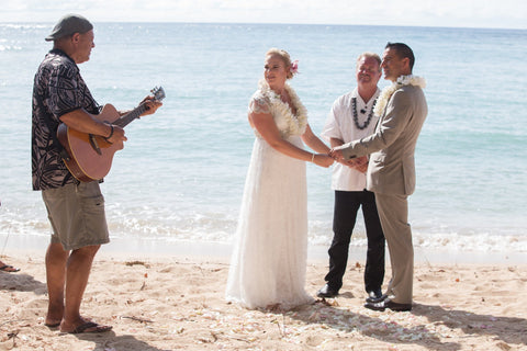 🌺 Kawela Bay | Oahu | Hawaii Beach Weddings & Elopements | Married with Aloha, LLC