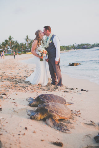🌺 Kukio Beach | North Kona | Hawaii Beach Weddings & Elopements | Married with Aloha, LLC
