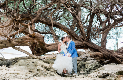 Paradise Cove | Oahu | Hawaii Beach Weddings & Elopements | Married with Aloha, LLC