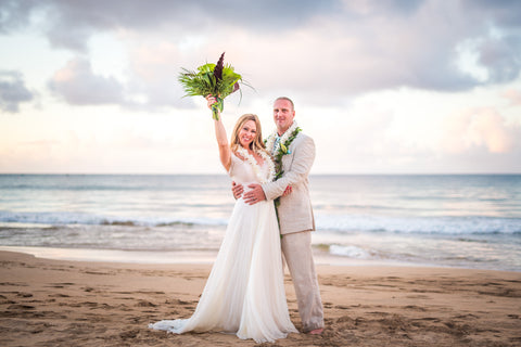 🌺 Hanalei Bay | North Kauai | Hawaii Beach Weddings & Elopements | Married with Aloha, LLC