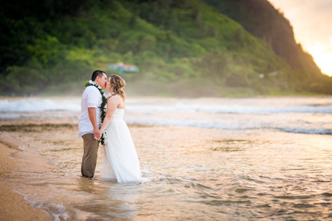 Trash The Dress Photos | Hawaii Beach Weddings & Elopements | Married with Aloha, LLC