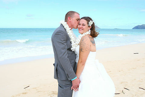 🌺 Waimanalo Bay | Oahu | Hawaii Beach Weddings & Elopements | Married with Aloha, LLC