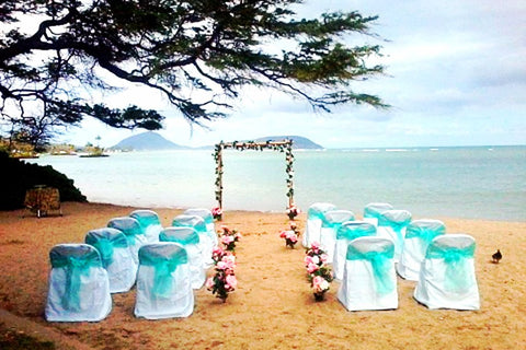 Wai'alae Beach, Oahu , Locations - Hawaii Weddings, Married with Aloha, Hawaii - 7