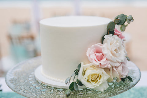 Ceremony Cake | Hawaii Beach Weddings & Elopements | Married with Aloha, LLC