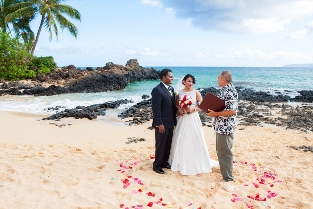 just the two of us elopement package event packages married with aloha