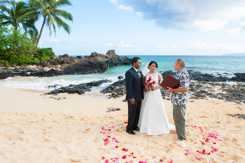 Makena Cove, South Maui , Locations - Hawaii Weddings, Married with Aloha, Hawaii - 6