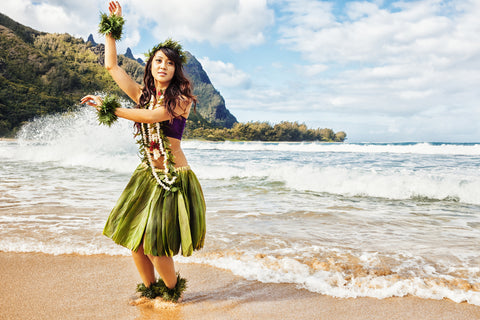 Traditional Hula Dancer