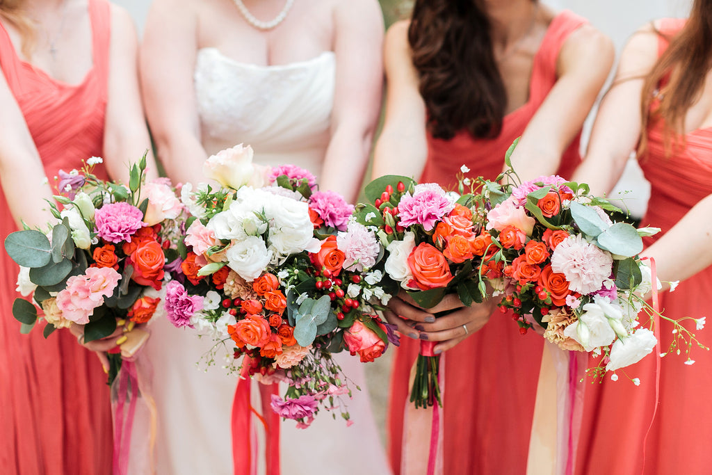 Maid of Honor Matching Wedding Bouquet | Hawaii Beach Weddings & Elopements | Married with Aloha, LLC