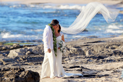 Papa'iloa Beach, Oahu , Locations - Hawaii Weddings, Married with Aloha, Hawaii - 2