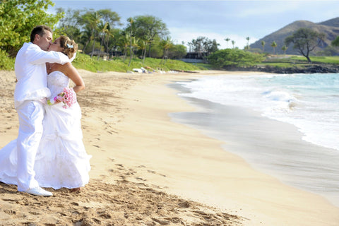 Maluaka Beach | South Maui | Hawaii Beach Weddings & Elopements | Married with Aloha, LLC